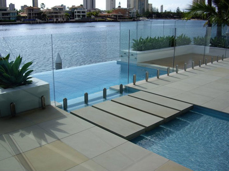 No 1 brisbane 39 s concrete inground swimming pool for Pool builders queensland