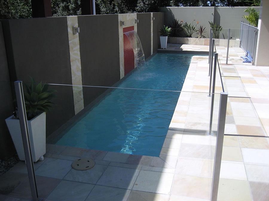 Perfect Lap Pool Builders Precision Pools QLD In Narrow Pool Designs